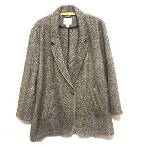 {OLD NAVY} wool blend pea coat.☔️🍁